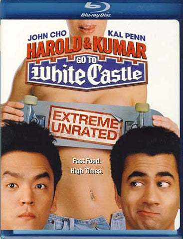 Harold And Kumar Go to White Castle (Extreme Unrated) (Blu-ray) BLU-RAY Movie