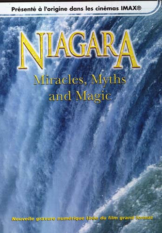 Niagara - Miracles, Myths And Magic (Presente A L'Origine Dans Les Cinemas IMAX) DVD Movie