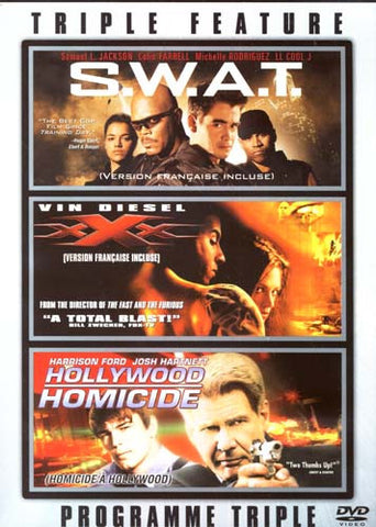 S.W.A.T./XXX/Hollywood Homicide (Triple Feature) DVD Movie