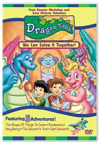 Dragon Tales - We Can Solve It Together DVD Movie