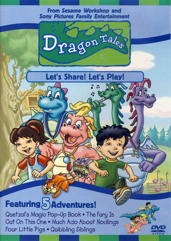 Dragon Tales - Let's Share! Let's Play! DVD Movie