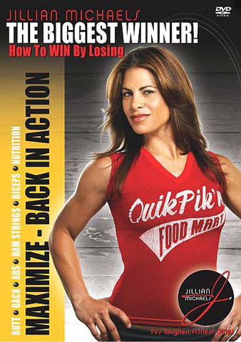 The Biggest Winner - How to Win by Losing: Maximize - Back in Action (Jillian Michaels) DVD Movie