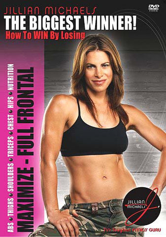 The Biggest Winner - How to Win by Losing - Maximize - Full Frontal (Jillian Michaels) DVD Movie
