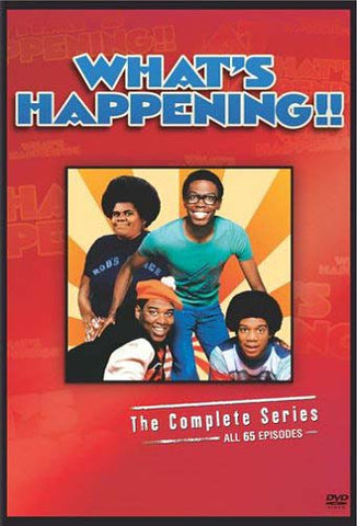 What s Happening - The Complete Series (Boxset) DVD Movie