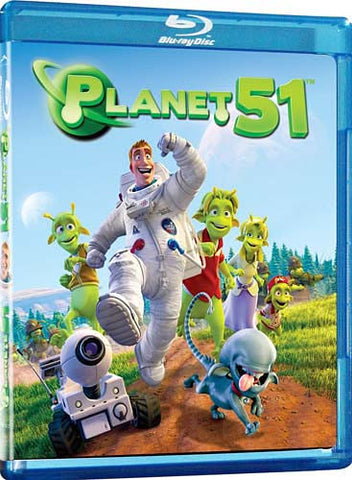 Planet 51 (Bilingual) (Blu-ray) BLU-RAY Movie