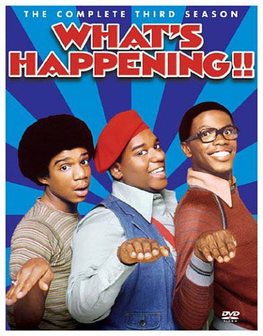 What s Happening - The Complete Season 3 (Boxset) DVD Movie