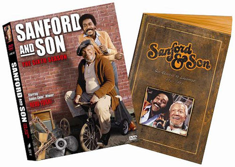 Sanford and Son - The Complete Sixth Season (6) (Includes a 12 Page Scrapbook) (Boxset) DVD Movie