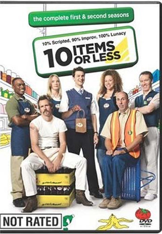10 Items or Less - The Complete Seasons One And Two (1 And 2) (Boxset) DVD Movie