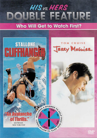Cliffhanger / Jerry Maguire (Double Feature) DVD Movie