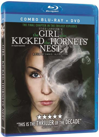 The Girl Who Kicked the Hornet's Nest (Combo Blu-ray + DVD) (Blu-ray) (English Dubbed Version) BLU-RAY Movie