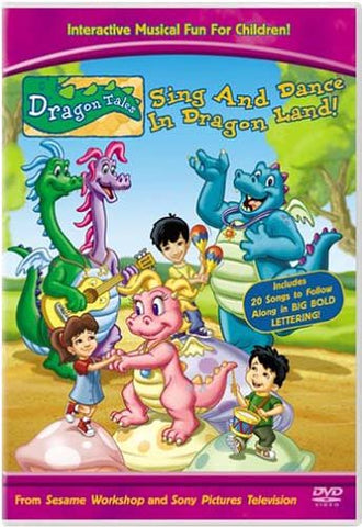 Dragon Tales - Sing and Dance in Dragonland DVD Movie