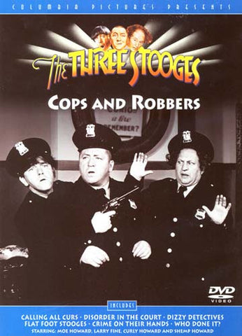 The Three Stooges - Cops and Robbers DVD Movie