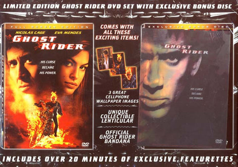 Ghost Rider (Full Screen Edition) Plus Exclusive Bonus Disc (Boxset) DVD Movie