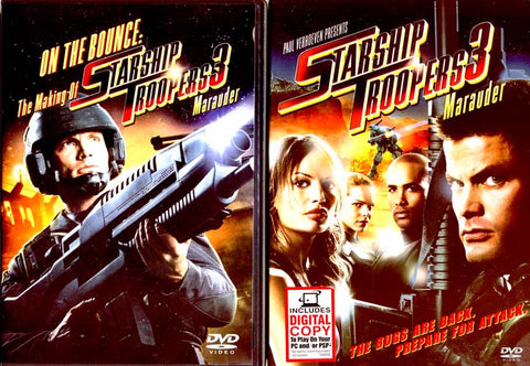 Starship Troopers 3 - Marauder (With Bonus Disc) (Boxset) DVD Movie