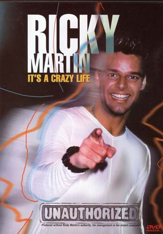 Ricky Martin - It's a Crazy Life (Unauthorized) DVD Movie