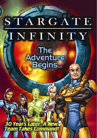 Stargate Infinity - The Adventure Begins DVD Movie