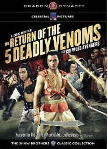 Return of The 5 Deadly Venoms (Dragon Dynasty) DVD Movie