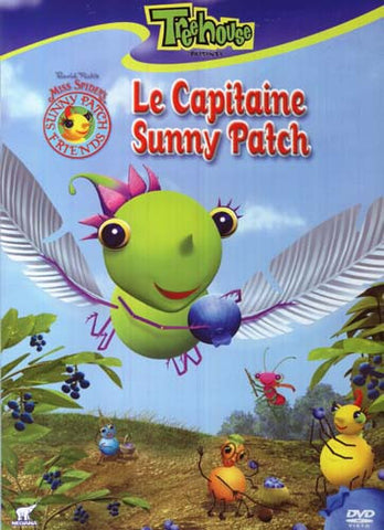 Miss Spider Le Capitaine Sunny Patch DVD Movie
