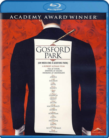 Gosford Park (Blu-ray) BLU-RAY Movie