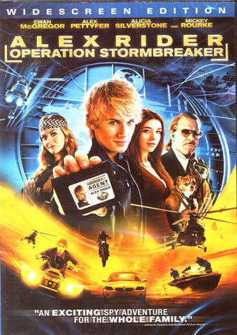 Alex Rider - Operation Stormbreaker (Widescreen Edition) DVD Movie