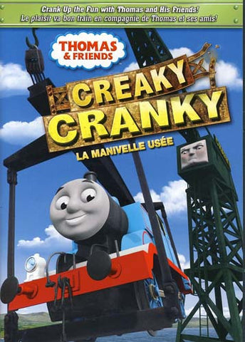 Thomas & Friends - Creaky Cranky (Bilingual) DVD Movie