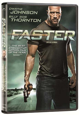 Faster (Bilingual) DVD Movie