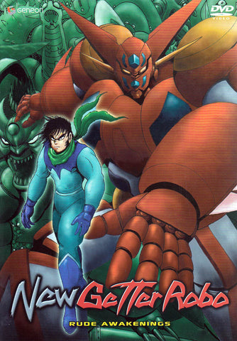 New Getter Robo - Rude Awakenings DVD Movie