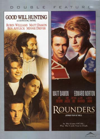 Good Will Hunting/Rounders (Double Feature) (grey cover) (bilingual) DVD Movie