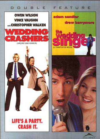 Wedding Crashers/The Wedding Singer (Double Feature) (Bilingual) DVD Movie