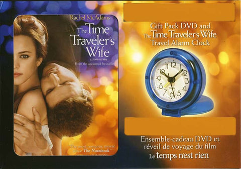 The Time Traveler's Wife (With The Travel Alarm Clock) (Boxset) DVD Movie
