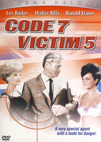 Code 7 Victime 5 (Cinema Deluxe) DVD Movie