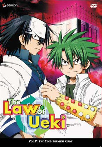The Law of Ueki - The Cold Survival Game (Vol. 9) DVD Movie