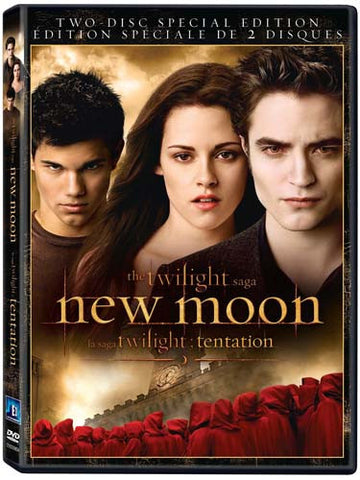 The Twilight Saga - New Moon (Two-Disc Special Edition)(Bilingual) DVD Movie
