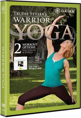 Trudie Styler s Warrior Yoga DVD Movie