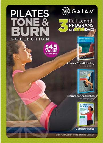 Pilates Tone And Burn Collection DVD Movie