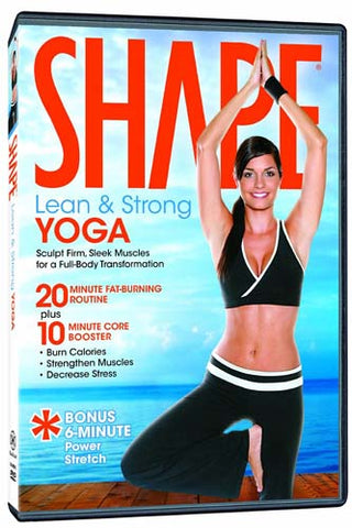 Shape - Lean And Strong Yoga DVD Movie