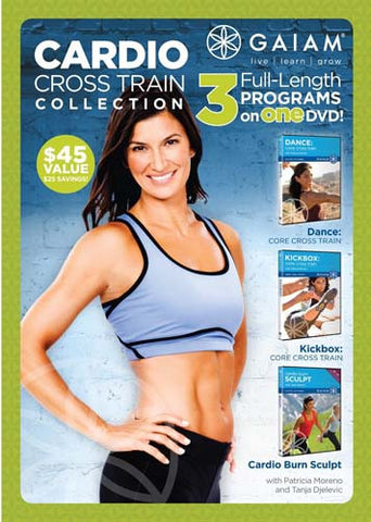 Cardio Cross Train Collection DVD Movie
