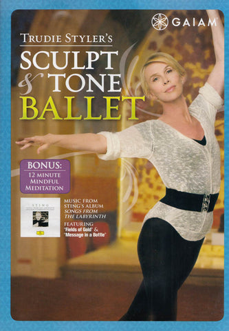 Trudie Styler's Sculpt And Tone Ballet DVD Movie
