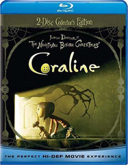 Coraline (2 Disc Collector's Edition 2D and 3D Version) (Blu-ray)