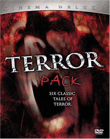 Terror Pack - Cinema Deluxe - Six Classic Tales Of Terror (Boxset) DVD Movie