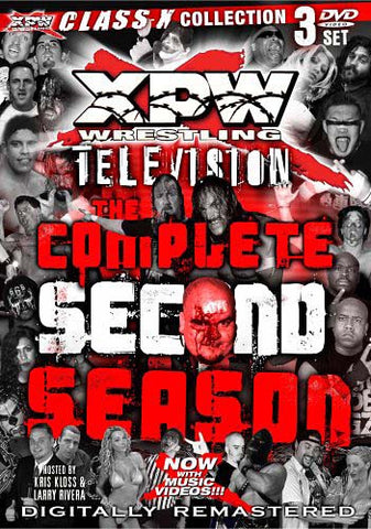 XPW Wrestling Television - The Complete Second Season (Boxset) DVD Movie