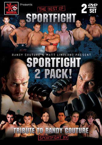 Randy Couture And Matt Lindland Present Sportfight (2 Pack) (Boxset) DVD Movie