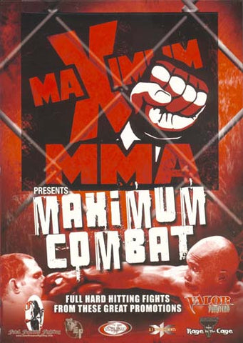 Maximum MMA Presents - Maximum Combat - Vol. 1 DVD Movie