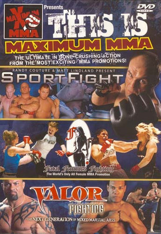 This Is Maximum MMA DVD Movie