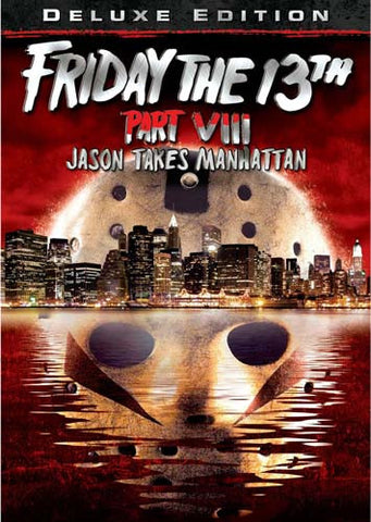 Friday the 13th - Part VIII (8) - Jason Takes Manhattan (Deluxe Edition) DVD Movie