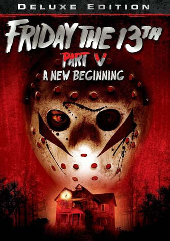 Friday the 13th - Part V (5) - A New Beginning (Deluxe Edition) DVD Movie
