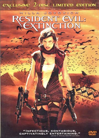 Resident Evil Extinction (Exclusive 2-disc Limited Edition) DVD Movie
