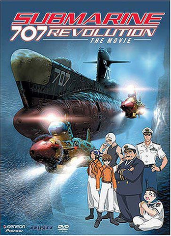 Submarine 707R - The Movie DVD Movie