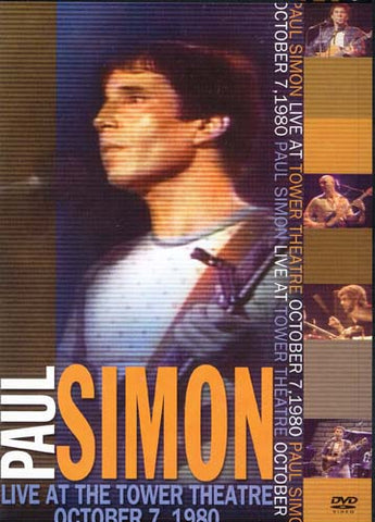 Paul Simon - Live at the Tower Theatre DVD Movie