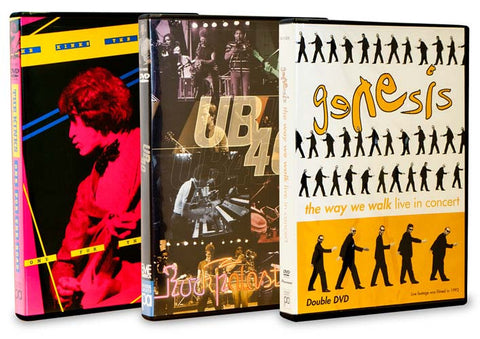 British Invasion - The Kinks/UB 40 Best Of Rock Palast Live/Genesis - The Way We Walk (Boxset) DVD Movie
